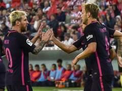 El Barça se lleva una trabajada victoria de San Mamés