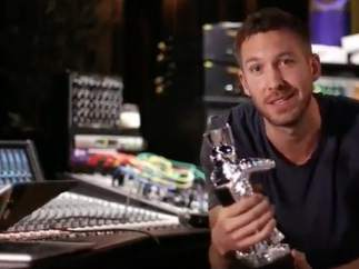 Calvin Harris recoge su MTV MVA