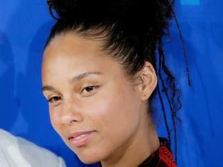 Alicia Keys en los premios MTV