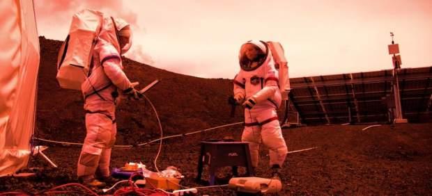 Simulación de Marte