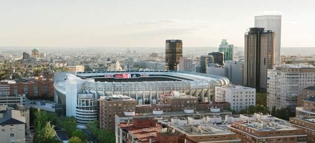 Madrid alrededor del Santiago Bernabéu