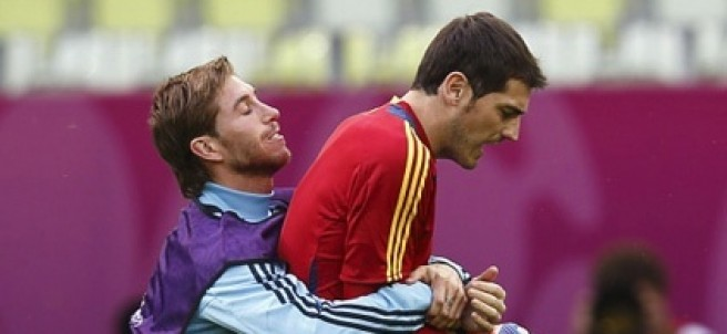 Sergio Ramose  Iker Casillas