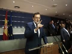 """Rajoy: """"Seguiré intentándolo con el PSOE"""""""