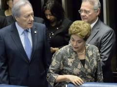 """Rousseff dice al Senado que Brasil está """"a un paso de un golpe de Estado"""""""