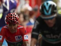 Quintana recupera el liderato de La Vuelta en Covadonga y mete distancia a Froome y Valverde