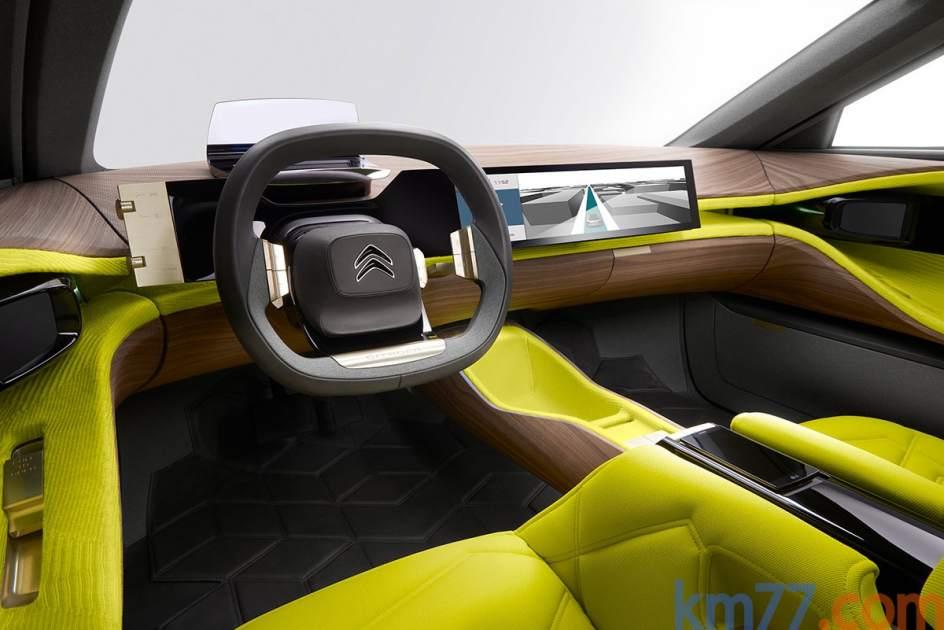 Aspecto interior del prototipo Citroën Cxperience