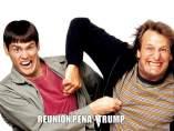 La reunión de Peña y Trump crea tormenta de memes