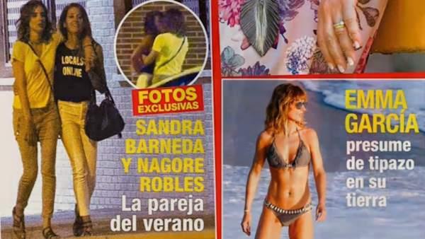 Sandra Barneda y Nagore Robles, ¿nueva relación?