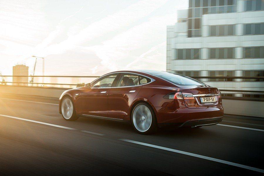 Imagen de un Tesla Model S