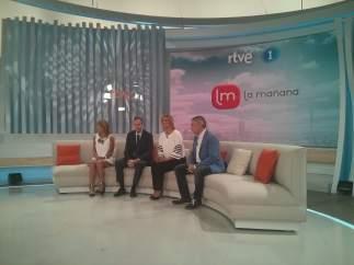 María Casado presenta 'La Mañana'