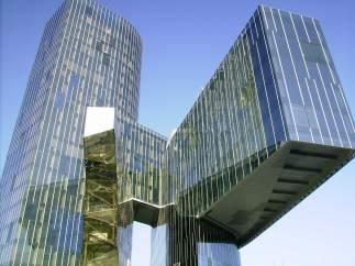 Imagen del edificio de Gas Natural Fenosa en Barcelona