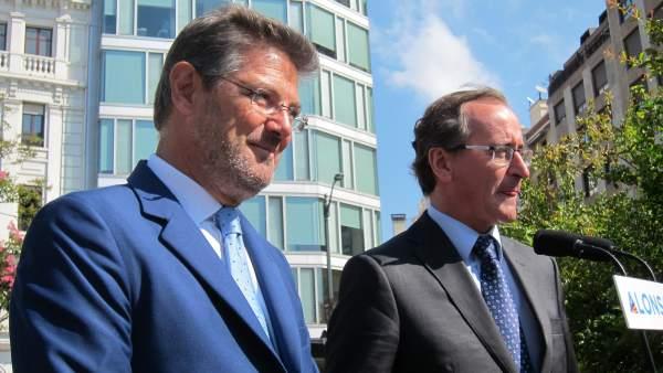 Rafael Catalá y Alfonso Alonso