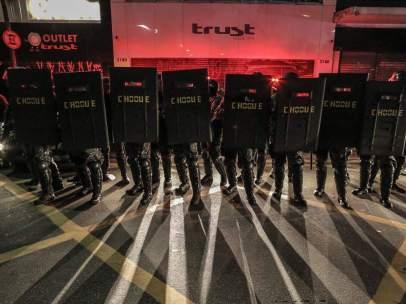 Marchas contra el impeachment de Rousseff