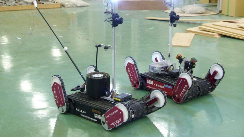 El primer robot japonés en entrar a la central nuclear de Fukushima ha sido ideado para rescates y hacer frente a desastres.