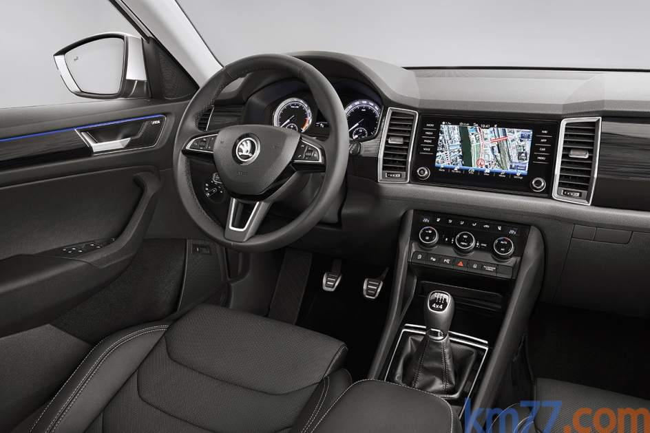 Interior del Škoda Kodiaq