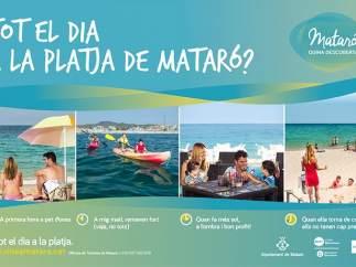 Campaña de promoción turística de Mataró del verano de 2016.