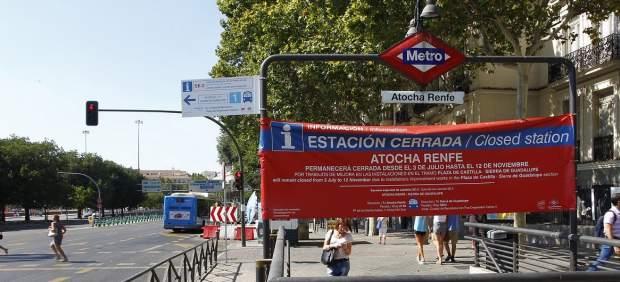 Obras en Metro
