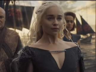 Daenerys llegando a Poniente