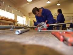 La mitad de los trabajadores hizo un curso de formación en 2015
