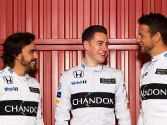 Alonso, Vandoorne y Button