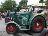 Tractores clásicos que participarán en la ruta