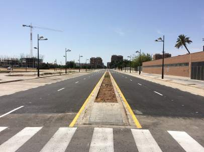 Valencia finaliza la urbanización del sector de Quatre Carreres