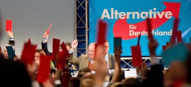 El partido de ultraderecha de Alemania (AfD).