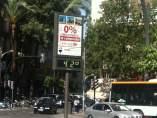 Termómetro marca 42º, calor en Murcia