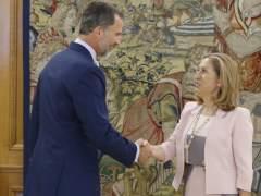 El Rey con Ana Pastor