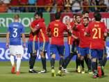Gol de España a Liechtenstein