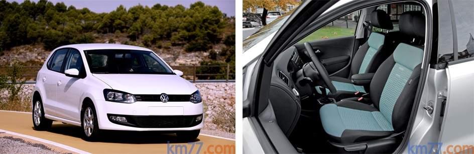 Imagen de un Volkswagen Polo bluemotion como en el que viajaban Bruno Hortelano y su primo