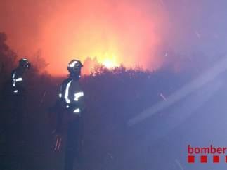 Incendio en Vilamitjana