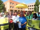 Miquel Soler recibe a la Plataforma en Defensa de l'Ensenyament Públic