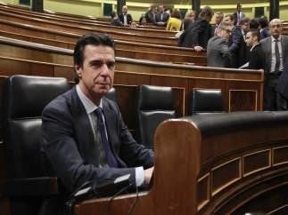 José Manuel Soria en el pleno del Congreso