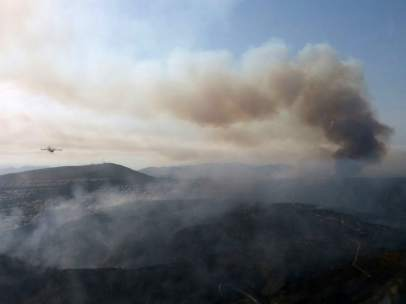 Incendio en Bolulla