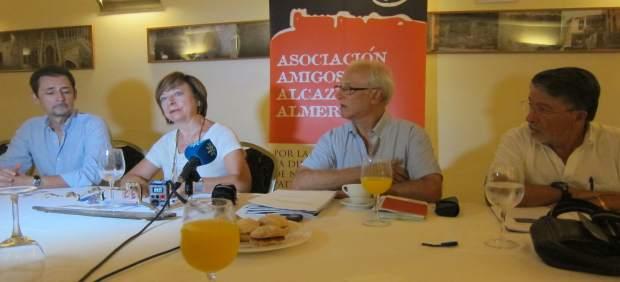 Amigos de La Alcalzaba denuncian el 'taladrazo' ante Fiscalía