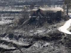 Incendio en Benitatxell y Xàbia