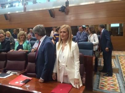 Cifuentes en la Asamblea