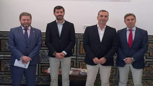 Nota Prensa: Junta Y Administradores De Fincas De Sevilla Exponenrehabilitación