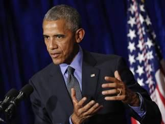 Barack Obama en la cumbre ASEAN en Laos