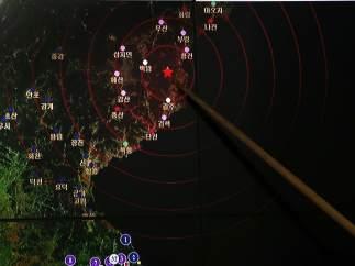 Terremoto en Corea del Sur.