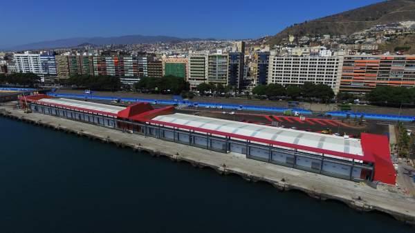 Estación de cruceros del puerto de Santa Cruz de Tenerife