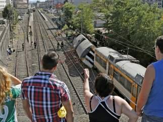 Accidente ferroviario en O Porriño
