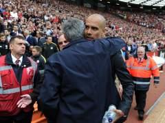 """Guardiola: """"Mourinho y yo somos vecinos, cuando nos vemos nos saludamos"""""""