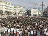 Chupinazo antitaurino en Madrid