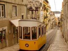 Un tranvía de Lisboa