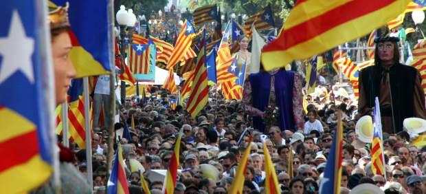 Concentración de la Diada en Tarragona.