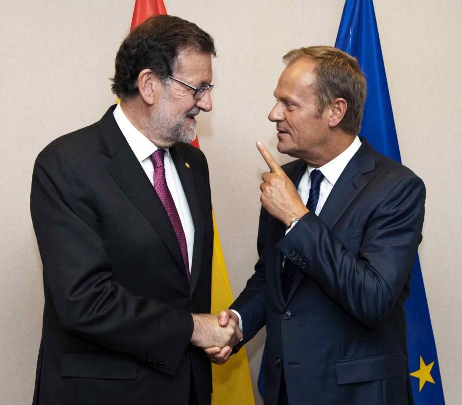 Rajoy recibe este lunes a tusk para analizar el futuro de for Presidente del consejo europeo