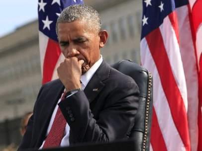 Obama recuerda a las víctimas del 11S