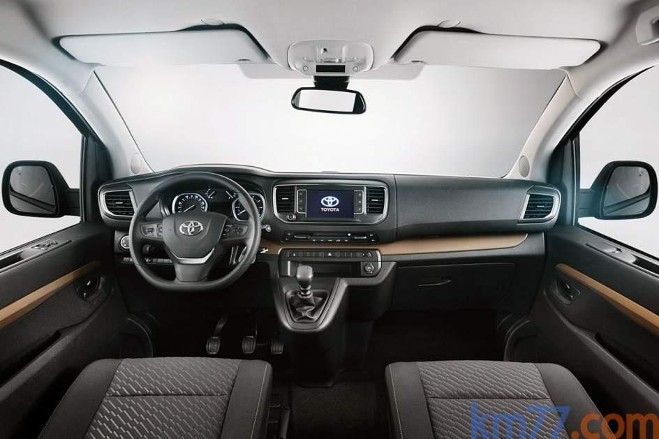 Aspecto interior del Toyota Proace Verso
